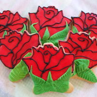 "Roses For Mother's Day I wanted to make some roses for ""Mom's Day"" and this is what I came up with..Rolled Buttercream and RI..thanks for looking..."