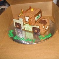 Tow Mater All buttercream.