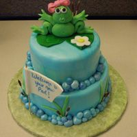 Frog Fist attempt at Marshmallow Fondant and sculpting figures. Inspired by many pictures on this site