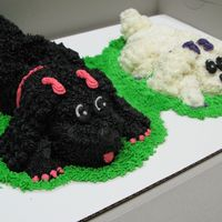 Poodles made for a lady in love with her poodles!