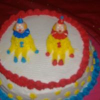 Clown Cake For Course 1 This was a 1st cake ever made by my 13 yr old son.I tease him by saying he is my little Duff from ace of cakes.LOL.Above all I feel he did...