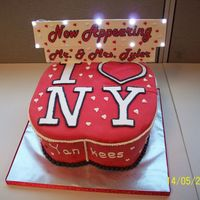 I <3 Ny I made this cake for my boss and his fiance for a luncheon we had at work for the happy couple. they are traveling to NY for their...
