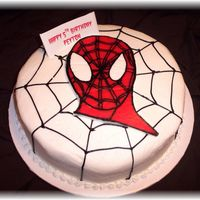 "Spiderman Fbct 10"" round with Spiderman FBCT"