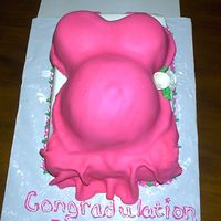 Belly Cake Well, first time doing this and I am very happy. I was a litte worried about putting on 9 x13 cake. But it turned out well, just don't...