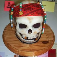 Pirates Of The Caribbean I entered this cake in the Mid Atlantic Cake show in Westminster MD