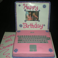 Icarly Laptop Cake Thank you to all the CC users for inspiration on this one...