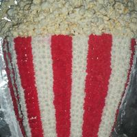 Popcorn Cake For Carnival Themed Birthday