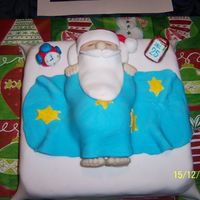 Sleeping Santa got this idea from another lady on this site...thank you so much ..everyone at my work do loved it :0)
