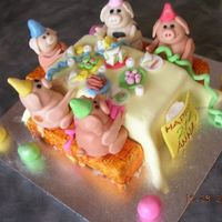 Farmyard Feast This was for my wortmates 21st...she loved it as well ...hehehe