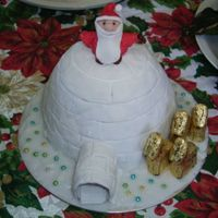 Igloo Xmas This was a rush job so i didn't have time to finish it off properly....so this is how it ended up...i was going to do a sleigh behind...