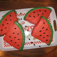 Watermelon Fruit Ant My mom needed something different to take to work for a party. So actually the inspiration came from my son, who loves watermelon, it is...