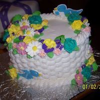 Course 2 Final My final completed cake for course 2.