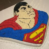 Superman I did this one for a cake class