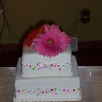 Simple Wedding Cake last minute wedding cake order