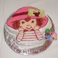 Strawberry Shortcake This was my daughter's 6th birthday cake. she loves strawberry shortcake and wanted me to make her one for her party. Its a strawberry...
