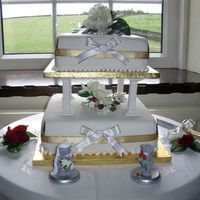 Graham__Karens_Wedding_038.jpg THE FINAL DISPLAY OF MY CAKE MY SISTER IN LAW LOVED IT I DID THIS 2 TIER CAKE FOR THE FIRST TIME AND I AM EMBARKING ON A NEW VENTURE THIS...