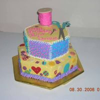 Sewing Cake Inspired by Whimsical Bakehouse
