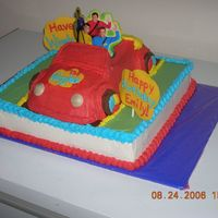 Wiggles Cake For my niece