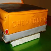 65 Chevy Truck Back end of the Chevy Truck cake.