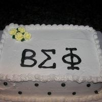 Beta Sigma Phi This cake was for the beta Sigma Phi Sisters Luncheon!