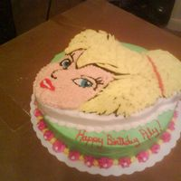 Tinkerbell   This was for a 2yr olds birthday....Thanks for looking!