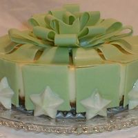 Green Bow Cheesecake
