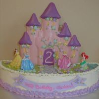 Jordan's Princess Castle I loved this one! My niece is four now, so this was the first of three Princess birthdays in a row, and this one's still my favorite....