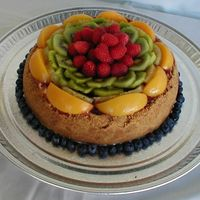 The Fruit Flower Cheesecake