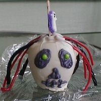 Chocolate Apple Skull