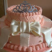Peach Princess Cake