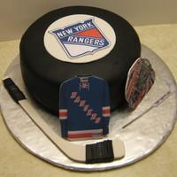 Ny Rangers Hockey Puck Thanks to morrisaz2004 for this idea.