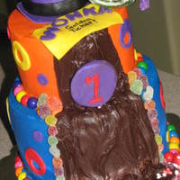 Willy Wonka And The Chocolate Factory WASC, BC, fondant decorations