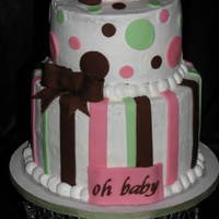 Pink And Brown Ladybug Baby Shower