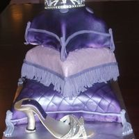 Princess Pillows This was my first time trying the pillows thanks CC for the instructions. I made this cake for my nephew's girl friend's 18th b-...