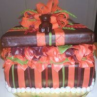 Fall Baby Shower This picutre was also seen online by a customer, she did not want the typical baby colors so she went for the fall colors. I was inspired...