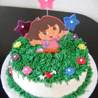 Dora Cake For Baby Small cake to go along with Dora/Diego cupcake cake