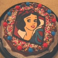 Snow White BCT of Snow White with sprinkles and gumballs