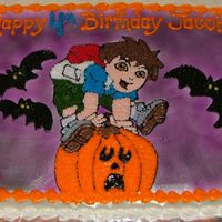 Diego Halloween Bday all buttercream