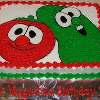 Veggietale#2 twin boys bday party