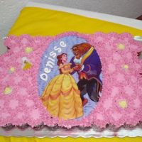 The Beauty And The Beast I made it with 80 mini cup cakes, 40 chocolate and 40 carrot