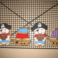 Pirate Cookies My first decorated cookies!Thank you to karen's cookies for her fabulous recipes and tutorials!!
