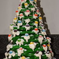 Christmas Cookie Tree  This is a project that my husband and I did together for our new neighbor Christmas gift. Their kids loved it and they like to pick...