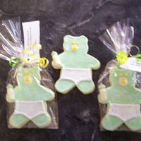 Baby Bears Cookies favors for baby shower