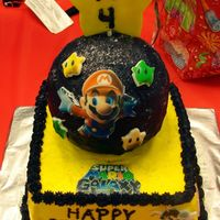 Quentin's Mario Cake   My four year old son loves playing Mario! HIs face when he saw this cake made it all worthit!