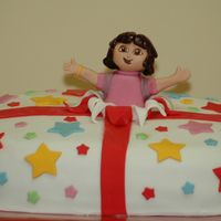 Dora Surprise Here's another Dora cake - she's really popular!