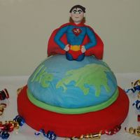 Superman This was for my son's 7th birthday.
