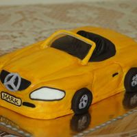 Car Cake-Front