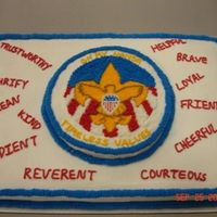 Boy Scout Ceremony I made this cake for a Boy Scout's Court of Honor.