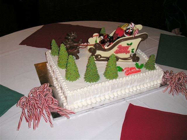 Cake For Company Christmas Party