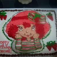 Strawberry Shortcake For my little girl's second birthday...she loved it!